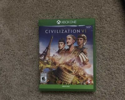 Civilization 6 for the xbox one