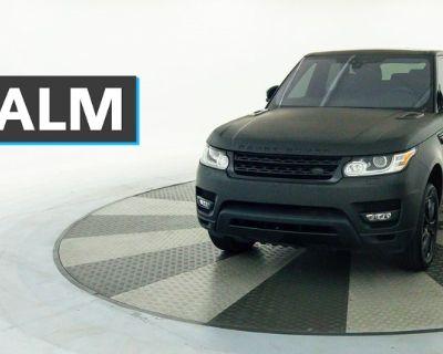 Pre-Owned 2017 Land Rover Range Rover Sport 3.0L V6 Supercharged SE With Navigation & 4WD