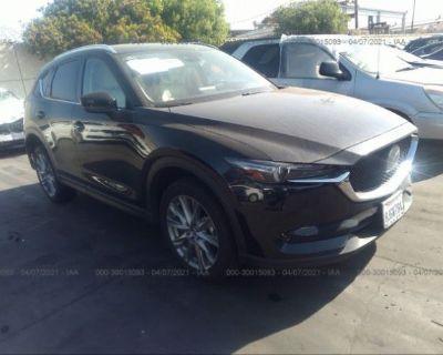 Salvage Black 2019 Mazda Cx-5