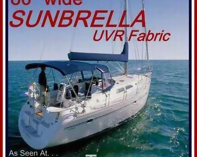 """Sunbrella Uvr/wr 80""""wide Fabric 4yds - For Covers Boat Bimini Canopy Top Shade"""