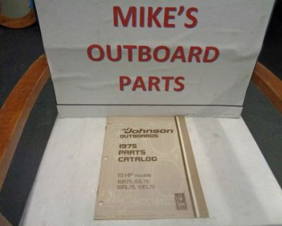 1975 Johnson Outboard 15hp Parts Catalog @@@check This Out@@@