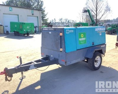 2009 Airman PDS400S Mobile Air Compressor