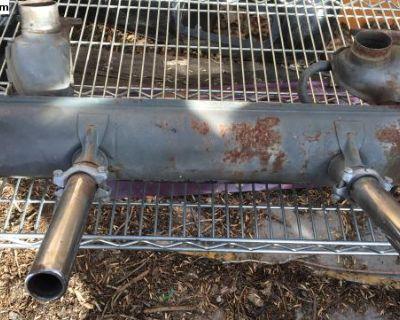 1974 Dual Preheat Cali Muffler
