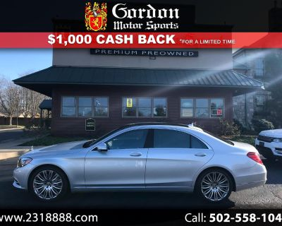 Used 2017 Mercedes-Benz S-Class S550