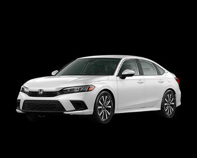 New 2022 Honda Civic EX 4D Sedan
