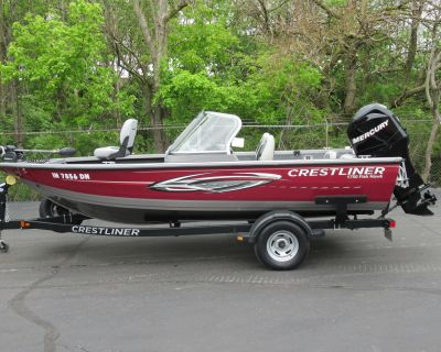 2011 Crestliner 1750 Fish Hawk WT