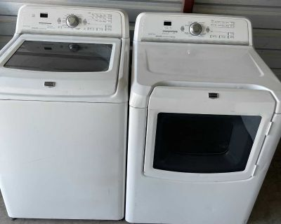 Maytag Washer And Electric Dryer