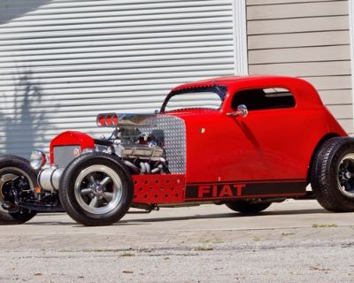 1937 Fiat 500 Chopped Coupe Restored Roadster Stretched Engine Swap
