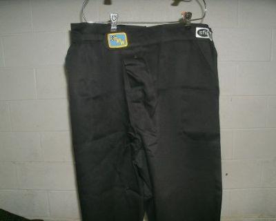 Fmr Racing Fire Suit Pants 3 Xl Firesuit Pants Black Proban/ Fr-7a Sfi 3-2a/1