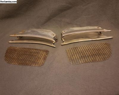 Lowlight Ghia Nose Grilles / Horn Grills