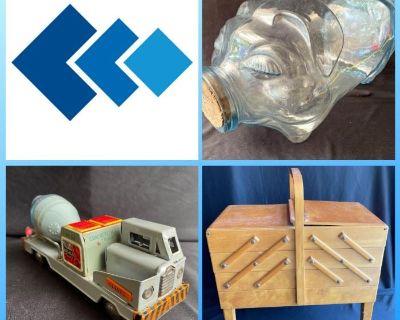 KCK Estate Auction - Antique Toys, Collectibles, Glassware