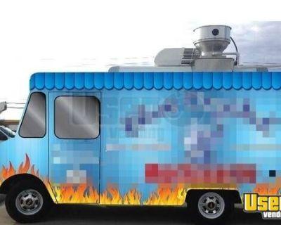 Used Chevrolet P20 Step Van Kitchen Food Truck/Mobile Food Unit