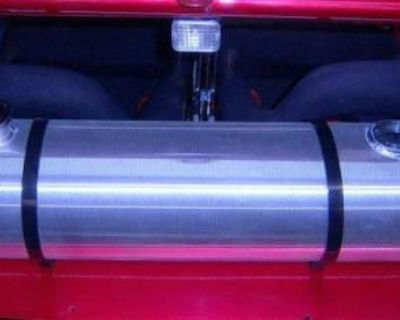 8x33 Spun Aluminum Gas Tank With Fuel Gauge 7 Gallon