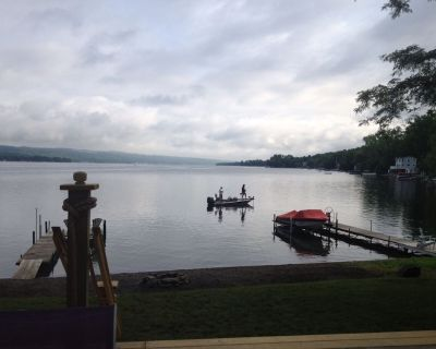 Year-Round Lakefront Home Situated on the Best Keuka Location. - Town of Milo