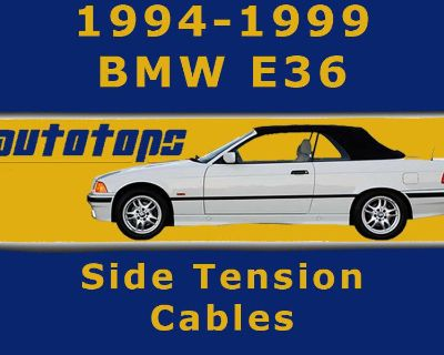 Bmw E36 Convertible Top Side Tension Cables