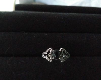 Onyx Knuckle Ring