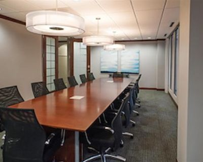 Private Meeting Room for 16 at Peachtree Offices at Downtown, Inc.