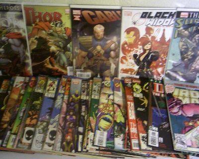 BULK MARVEL TITLES Lot (A) *(50 Reading Grade Comics!)