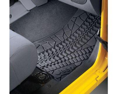 2012 Dch Jeep Wrangler Unlimited Jk Slush Floor Mat Mats Mopar 82210166ac New