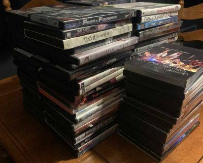 DVD Collection - 0.50$ each
