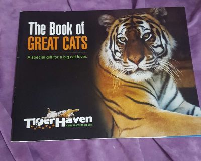 The Book of Great Cats: Tiger Haven Sanctuary Rescue Facility, Tennessee
