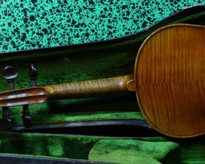 A stunning old French violin Paul Bailly Paris 1902