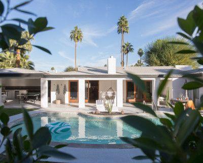 Blue Cactus Desert Dream House, Palm Springs, CA