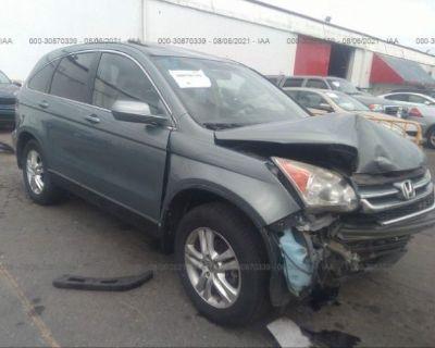 Salvage Teal 2011 Honda Cr-v