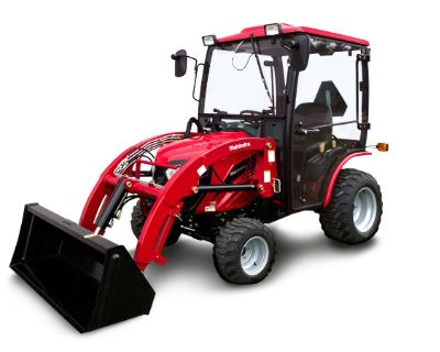 2017 Mahindra eMax 25S HST Cab Compact Tractors Mansfield, PA