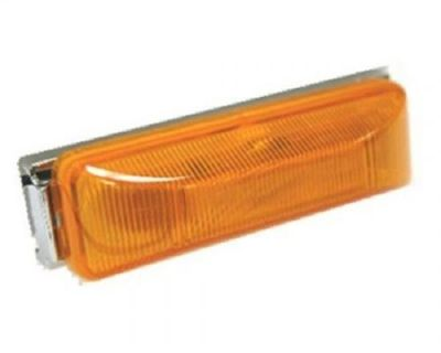 "Blazer International 4"" Sealed Led Running Board Light Amber Trailer Truck"