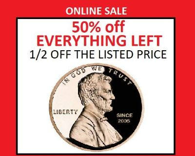 50% off EVERYTHING - Lee's Summit Small but Beautiful ONLINE Estate Sale