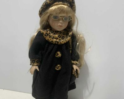 DOLL ON STAND 16 tall