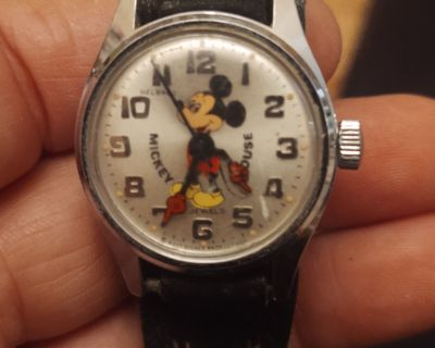 Vintage Mickey Mouse watch $50