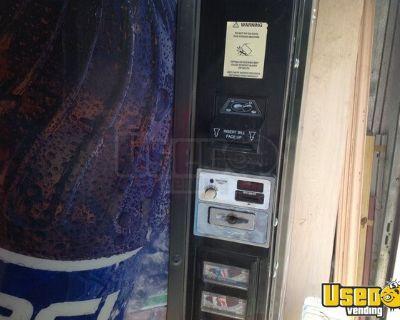 Dixie Narco Pepsi Soda Vending Machine