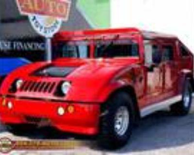 1999 AM General Hummer Open Top V8 6.5L OHV