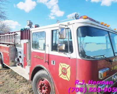1988 Pierce Pumper Fire Truck