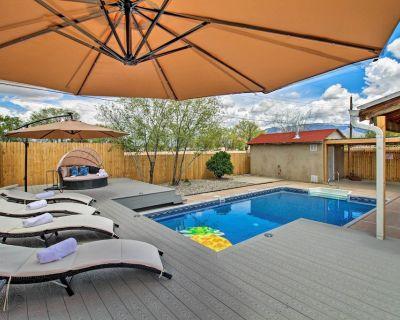 Luxury Albuquerque Home w/ Pool, Deck, + Hot Tub! - Alamedan Valley