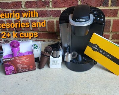 Kreurig coffee maker with accessories