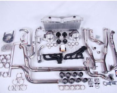 On 3 Performance Mustang Gt 4.6 2v Twin Turbo System 2001 01 900+hp