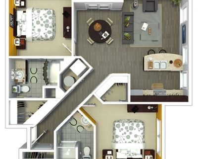2BR/2BTH Take Over Lease Ending 9/22 (Amenities)!