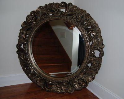 Mirror, Beautiful Beveled Glass Mirror