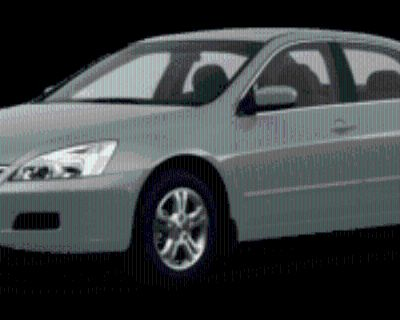 2007 Honda Accord EX Sedan I4 Automatic