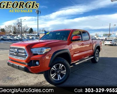 Used 2016 Toyota Tacoma SR5 Double Cab Long Bed V6 6AT 4WD