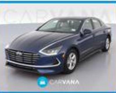 2020 Hyundai Sonata Blue, 8K miles