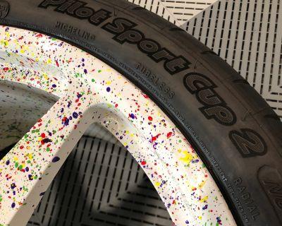 FS: Champion Motorsport / Forged / Lightweight / Michelin Sport Cup 2 / Custom Paint