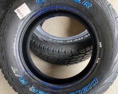 Brand New Cooper Tires 265/60 R18