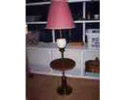 Floor Lamp Attached Table