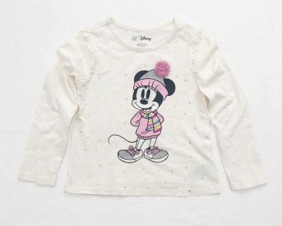 Gap toddler Minnie Mouse tee size 5T