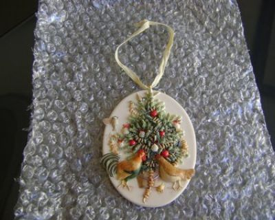 Gorgeous Signed Keepsake Ornament - Could Wear As A Pendant, Too!