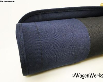 Cloth Sunroof Cover - Bug 1957 to 1963 Blue Canvas
